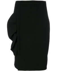 Moschino Boutique Frill Detail Pencil Skirt