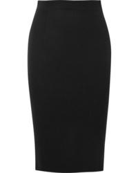 Alexander McQueen De Poudre Wool Pencil Skirt
