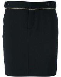 Dsquared2 Zip Trim Pencil Skirt