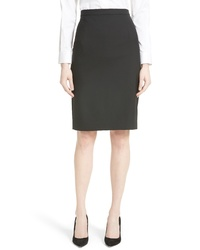 Theory Hemdall B Good Wool Suit Skirt