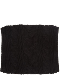Balmain Black Large Twist Scarf