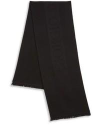 Giorgio Armani Solid Wool Scarf