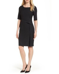 Delera stretch wool sheath dress medium 4136556
