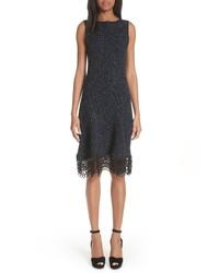 Oscar de la Renta Tweed Knit Dress
