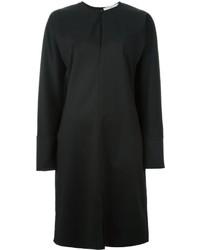 Black Wool Shift Dress