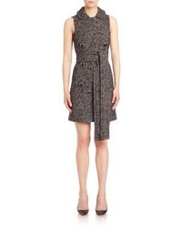 Michael Kors Michl Kors Collection Double Breasted Shift Dress