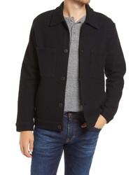 Nn07 Alvin Boiled Wool Jacket