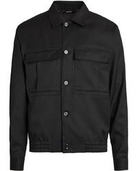 Z Zegna Wool Multi Pocket Overshirt