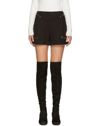 3.1 Phillip Lim Black High Rise Shorts