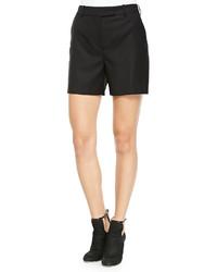 McQ by Alexander McQueen Mcq Alexander Mcqueen Wool Tuxedo Shorts Black