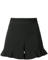 RED Valentino Ruffle Hem Shorts