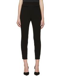 Alexander McQueen Black High Rise Skinny Trousers
