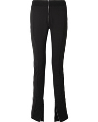 TRE by Natalie Ratabesi Melanie Striped Stretch Wool Blend Skinny Pants