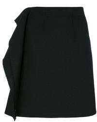 MM6 MAISON MARGIELA Frayed Ruffle Panel Skirt
