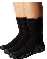 Wigwam All Weather 3 Pack Crew Cut Socks Shoes