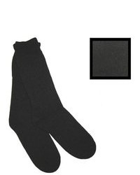 Duray Black Thermal Wool Socks Style 1244