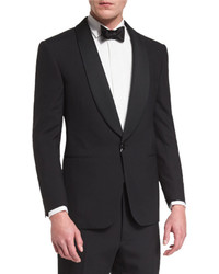 Ralph Lauren Anthony Shawl Lapel Wool Tuxedo Black