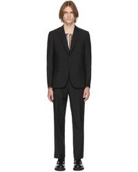 Paul Smith Black Wool Soho Suit