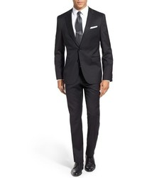 BOSS Ryanwin Extra Trim Fit Solid Wool Suit