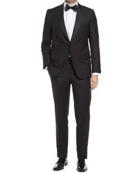 Hickey Freeman Classic Fit Wool Tuxedo
