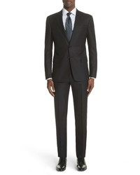 Giorgio Armani Trim Fit Solid Wool Suit