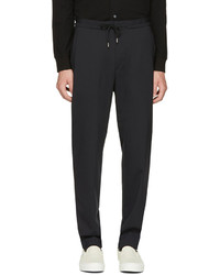 Paul Smith Black Casual Jogger Trousers