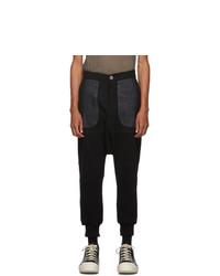 Unravel Black Hybrid Lounge Pants