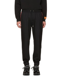 Givenchy Black Iconic Band Jogger Trousers