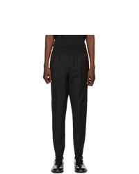 Burberry Black Runway Block Jogger Lounge Pants