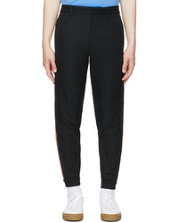 Burberry Black Stripe Jogging Lounge Pants