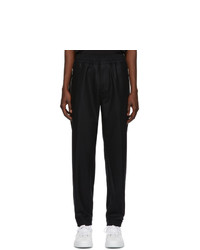 Givenchy Black Wool Lounge Pants