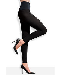 Commando Footless Tights Black Medium