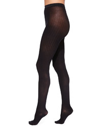 Fine cotton basic ribbed tights medium 183892