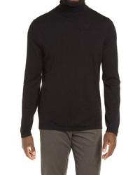Vince Long Sleeve Wool Cashmere Turtleneck Sweater
