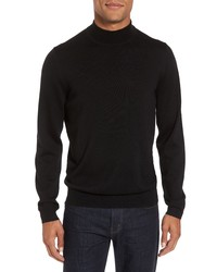 Nordstrom Men's Shop Mock Neck Merino Wool Sweater