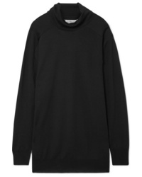 Maison Margiela Oversized Wool Turtleneck Sweater