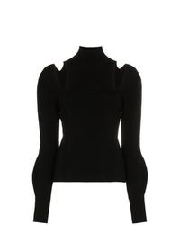 Chloé Slashed Shoulders Merino Wool Turtleneck Unavailable