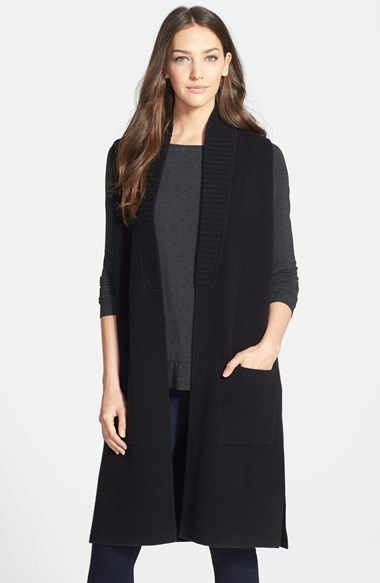 Classiques Entier Long Cashmere Sweater Vest | Where to buy & how ...