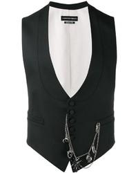Alexander McQueen Chain Detail Waistcoat
