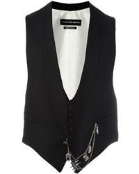 Alexander McQueen Pocket Chain Waistcoat