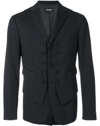 DSQUARED2 Waistcoat Layer Blazer