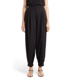 Dolce & Gabbana Dolcegabbana Stretch Wool Lantern Pants