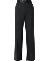 Helmut Lang Med Wool And Wide Leg Pants