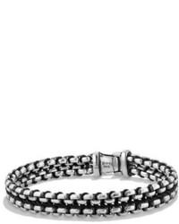 12mm woven box chain bracelet medium 782733