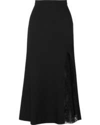 Givenchy Ed Crepe Midi Skirt