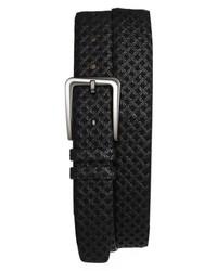 Mezlan Brill Ascot Leather Belt