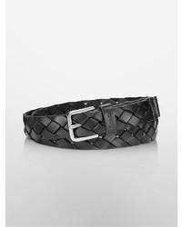 Calvin Klein Braided Leather Belt