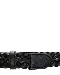Italian Leather Braided Belt