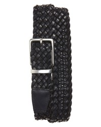 Cole Haan Reversible Braided Leather Belt