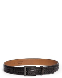 Nobrand Woven Leather Belt